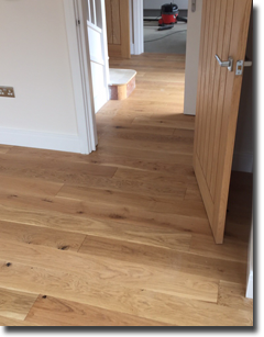 Engineered wood fitted from V4 flooring. V4woodflooring themselves, the UK wood floor specialists, complemented us on a 'Lovely job' via our Instagram account.